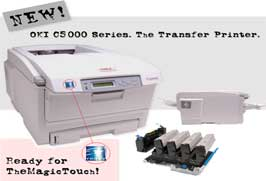 Oki Printers suitable for TheMagicTouch papers